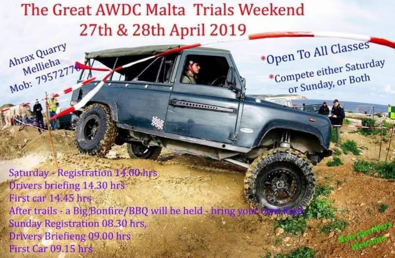 flyer all wheel drive club malta ahrax quarry mellieha 20190428 the belgian fry