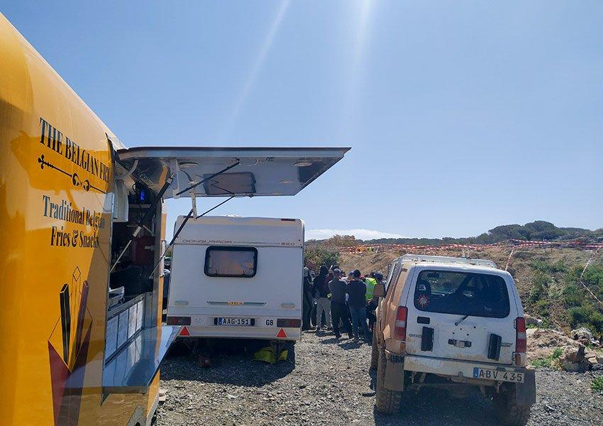 morning briefing all wheel drive club malta ahrax quarry mellieha 20190428 the belgian fry